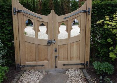 Exterior Hand Made Gate Image-5