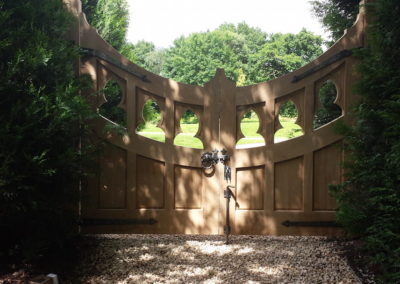 Exterior Hand Made Gate Image-7