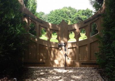 Exterior Hand Made Gate Image-7
